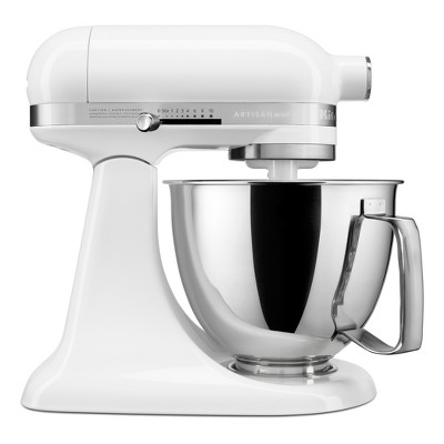 KitchenAid Refurbished Artisan Mini 3.5qt Tilt-Head Stand Mixer White - RKSM33XXWH
