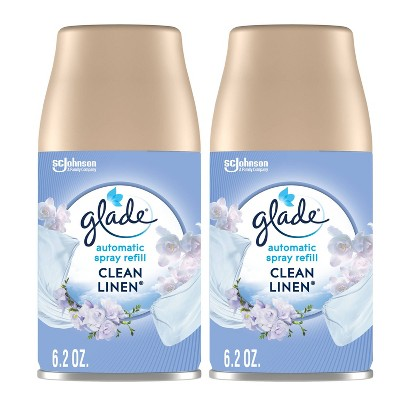 Glade Automatic Air Freshener Spray Refill 6.2 oz 2 ct