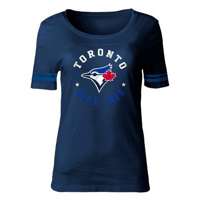 MLB Toronto Blue Jays Women's Poly Rayon Fashion T-Shirt
