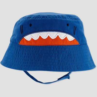 Baby Boys' Shark Swim Hat - Just One You® made by carter's Blue 6-12M