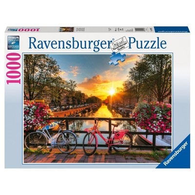 Ravensburger Bicycles In Amsterdam Puzzle 1000pc