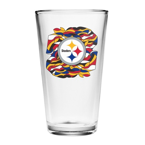 70a3a770449 NFLxFIT Pittsburgh Steelers 16oz Sublimated Pint Glass