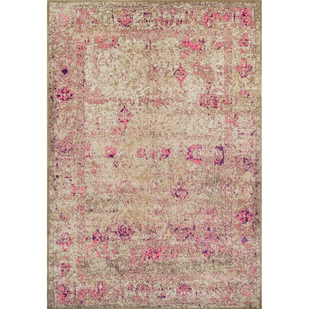 "9'6""X13' Pink Damask Woven Area Rug - Addison Rugs Product Image"