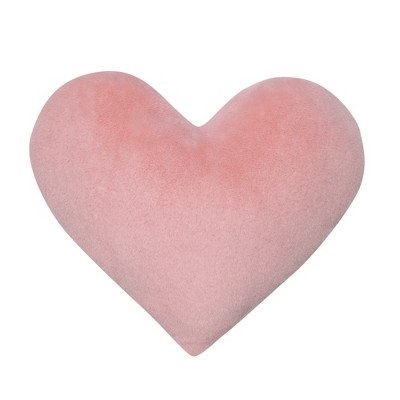 Lambs & Ivy Signature Heart to Heart Soft Pink Decorative Pillow