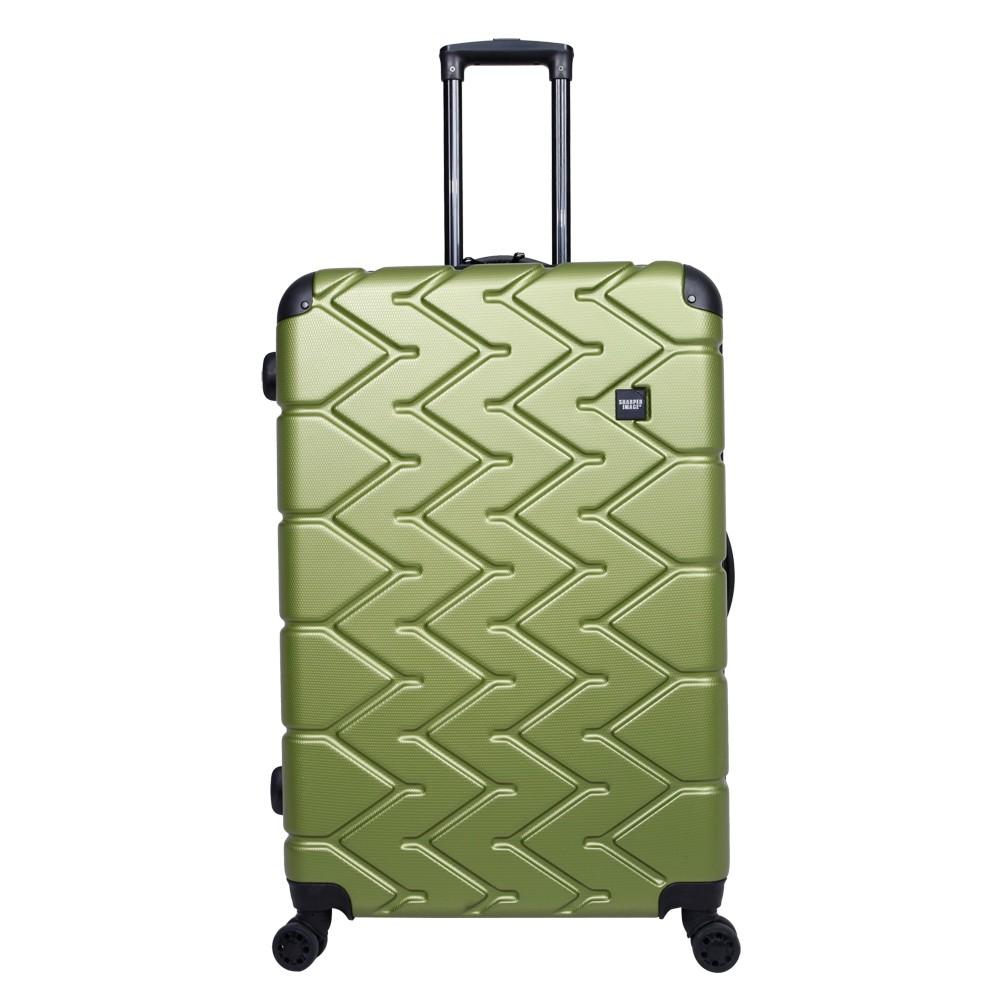 Sharper Image 28 Hardside Spinner Suitcase - Green