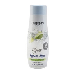 SodaStream Diet Lemon Lime Sodamix - 440ml