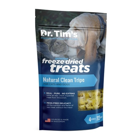 Dr. Tim's Pet Food Freeze Dried Clean Tripe - 4oz - image 1 of 2