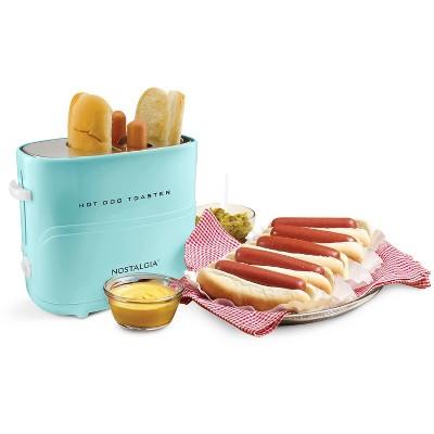 Nostalgia Hot Dog Toaster HDT600AQ - Aqua