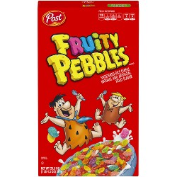 Fruity Pebbles Breakfast Cereal - 20.5oz - Post