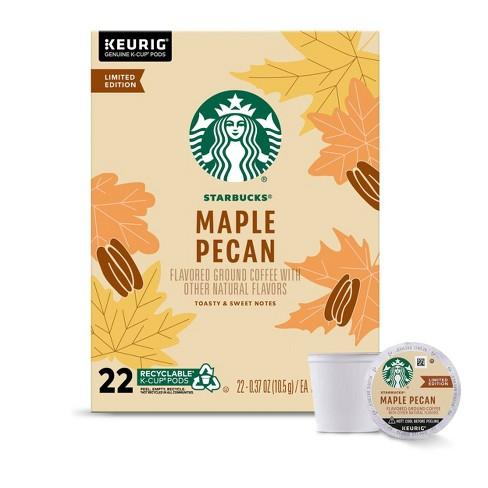 Starbucks Maple Pecan Medium Roast Coffee - Keurig K-Cup Pods - 22ct - image 1 of 4