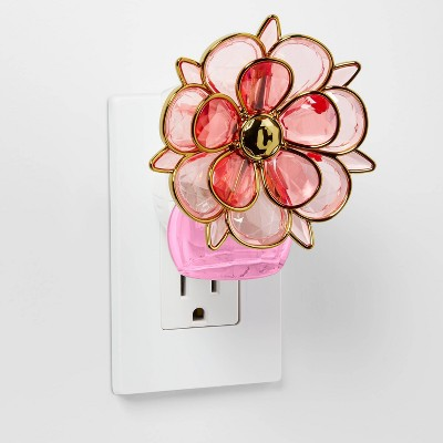 Pink Capiz Petal Geometric Flower Plug-In - Opalhouse™