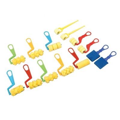 Chenille Kraft Foam Brushes And Roller Set