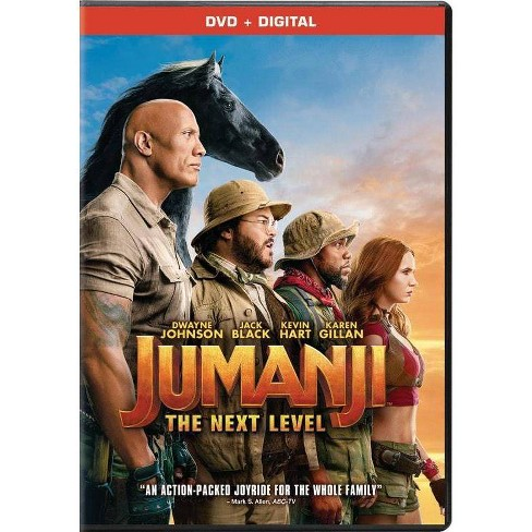 Jumanji: The Next Level (DVD + Digital) - image 1 of 1