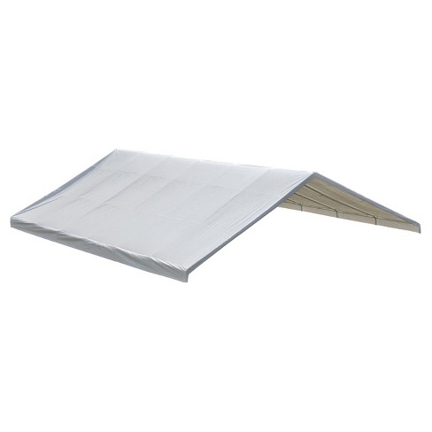 "Canopy Replacement Cover For 2-3, 8"" Frame 30'X40' - White - Shelterlogic - image 1 of 2"
