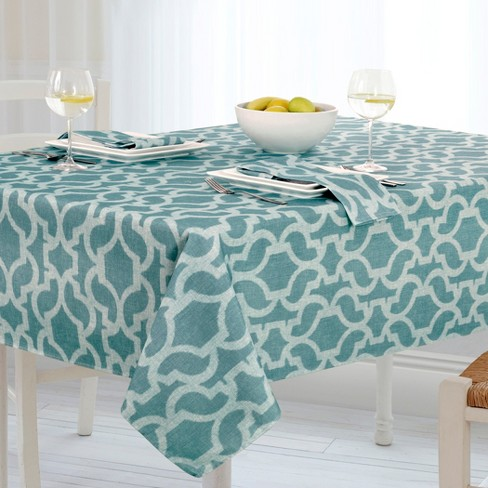 fcf15a936ca7 Sydney Stain Resistant Indoor Outdoor Tablecloth - 60
