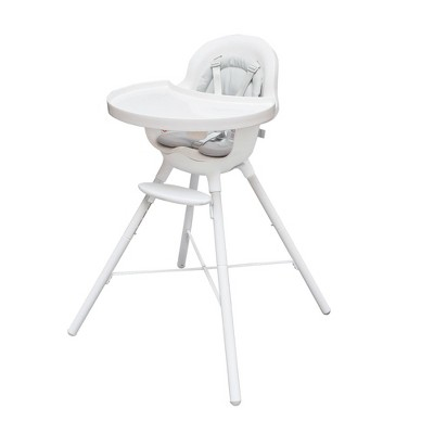 Boon Grub Dishwasher Safe Convertible High Chair - White