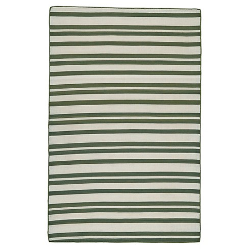 2'X3' Solid Tufted Accent Rugs Olive - Weave & Wander - image 1 of 4