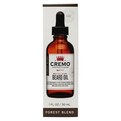 Cremo Forest Blend Revitalizing Beard Oil   1oz by 1oz