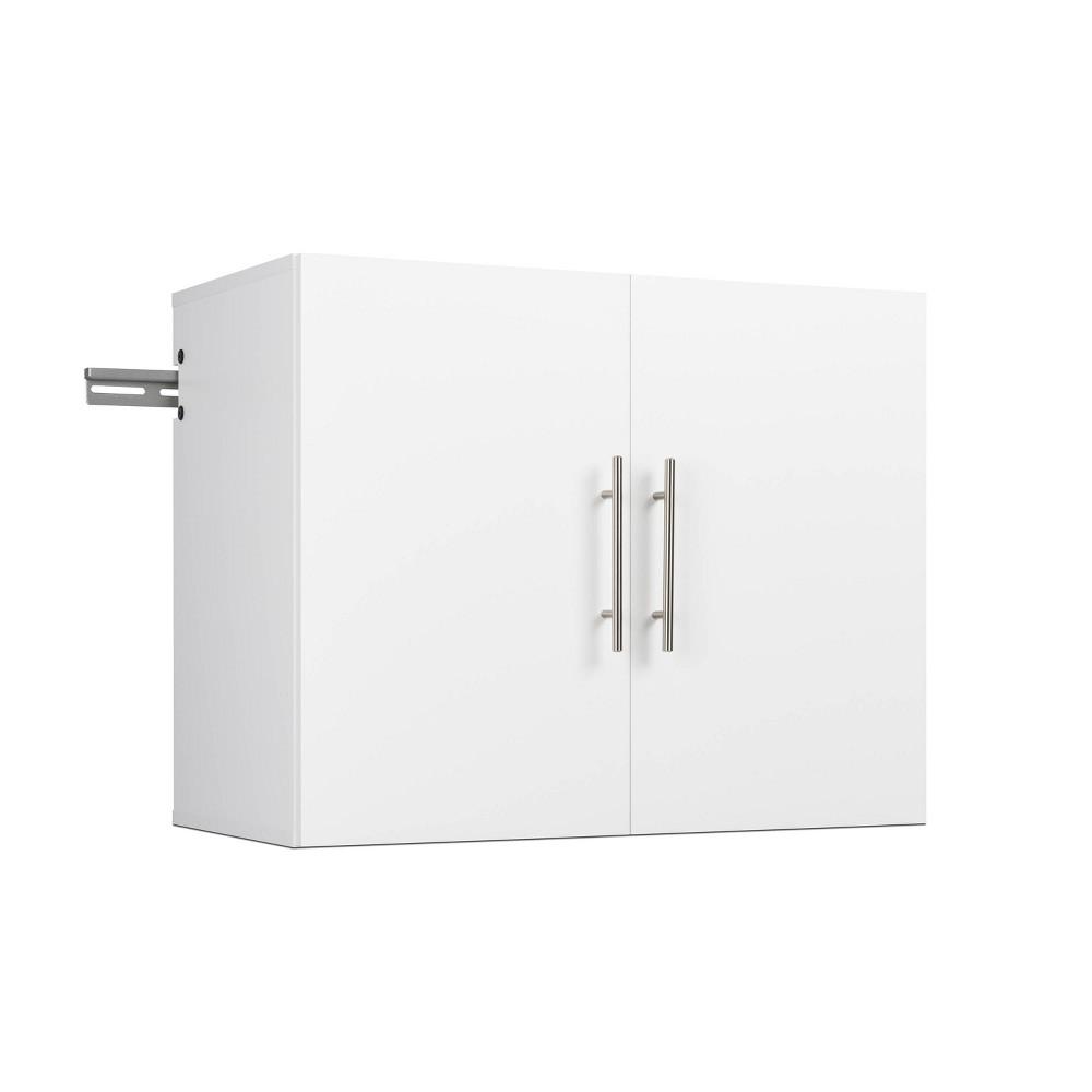 30 34 Hangups Upper Storage Cabinet White Prepac