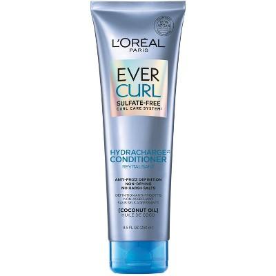 L'Oreal Paris Ever Curl Sulfate-Free Coconut Oil Hydracharge Conditioner - 8.5 fl oz