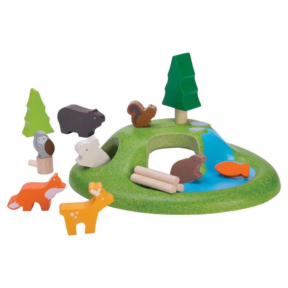 PlanToys Animal Set, Multi-Colored