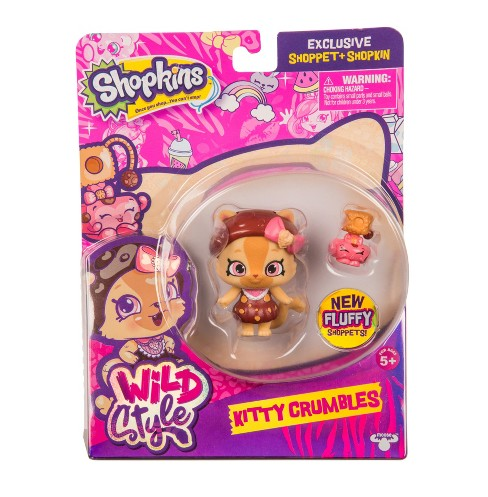 Shopkins Wild Style Shoppet - Kitty Crumbles - image 1 of 5