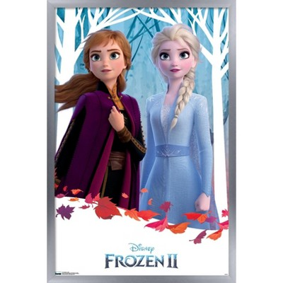 Trends International Disney Pixar Frozen 2 - Duo Framed Wall Poster Prints