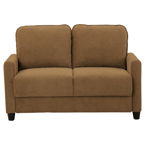 Sydney Storage Loveseat Taupe Lifestyle Solutions - image 1 of 2