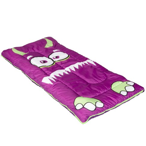 """Pacific Play Tents Friendly Monster Kids Sleeping Bag 58"""" x 28"""" - image 1 of 4"""