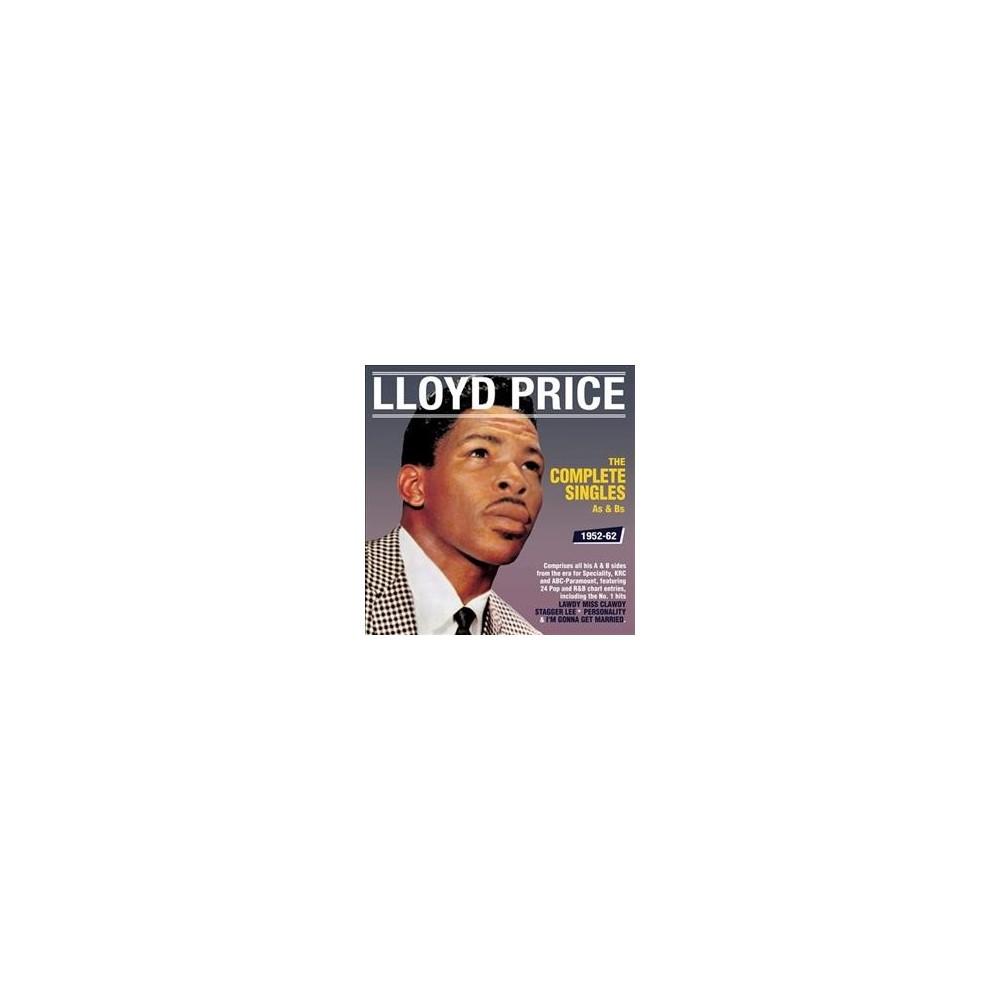 Lloyd Price - Complete Singles As & Bs:52-62 (CD)