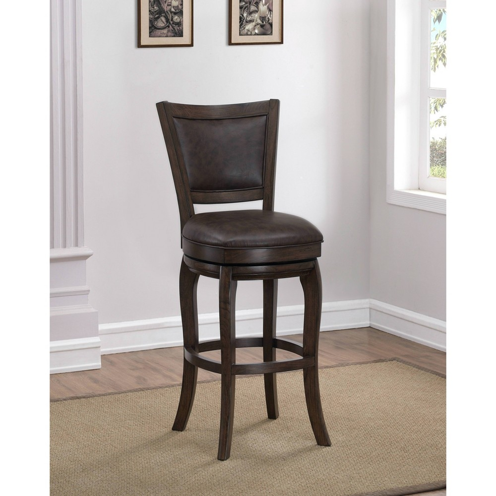 Madison Counter Height Stool Cocoa (Brown) - American Heritage Billiards