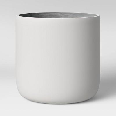 Large Cylinder Planter White Matte - Project 62™