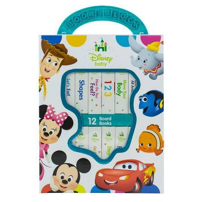 Disney Baby - My First Library 12 Board Book Block Set