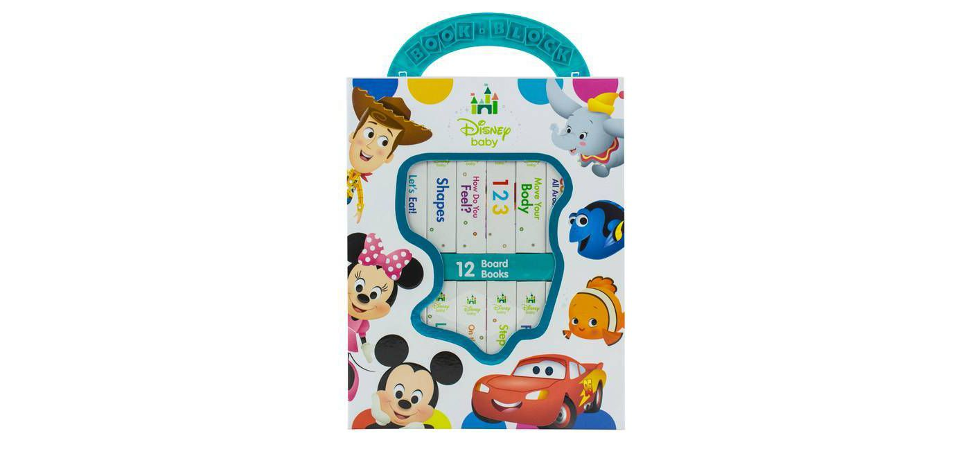 Disney Baby - My First Library 12 Board Book Block Set - by Phoenix - image 1 of 19