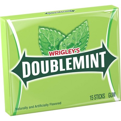Wrigley's Doublemint Chewing GumSingle Pack - 15 Piece