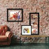 """11"""" x 14"""" Wide Gallery Matted Frame Black - Made By Design™ - image 2 of 4"""