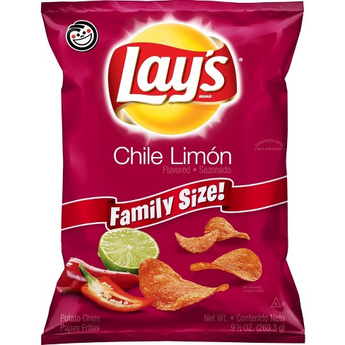 Lay's Chile Limon Flavored Potato Chips - 9.5oz - image 1 of 3