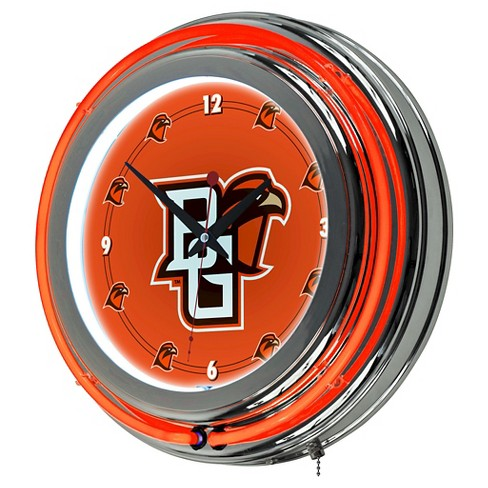 Bowling Green St. Falcons Decorative Clock - image 1 of 1