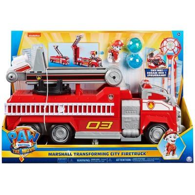PAW Patrol: The Movie Marshall Transforming City Fire Truck