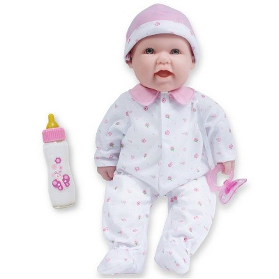 """JC Toys La Baby 16"""" Doll - Pink Flower Outfit"""