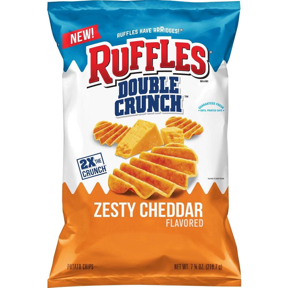 Ruffles Double Crunch Hot Wings Potato Chips - 7.75oz