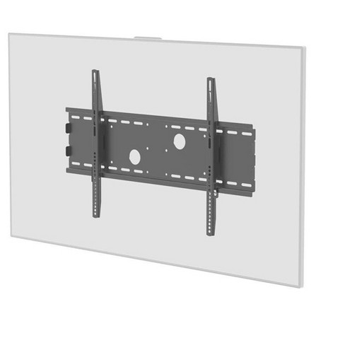 "Titan Series Fixed Wide Wall Mount For Large 32"" - 55"" Inch TVs Displays, Max 165 LBS. 75x75 to 750x450, Black, UL Certified, Rohs Compliant - image 1 of 4"