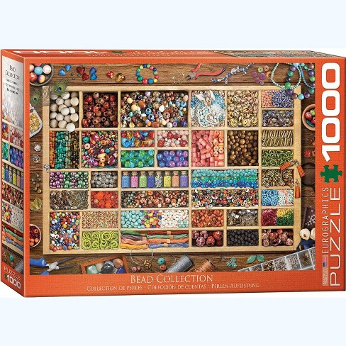 Eurographics Inc. Bead Collection 1000 Piece Jigsaw Puzzle - image 1 of 4