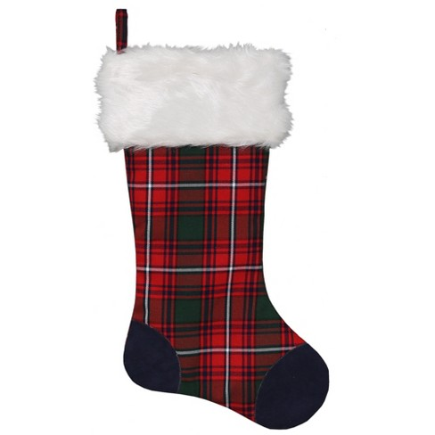 """Sequin 14/"""" Red Holiday Stocking Xmas Target"""