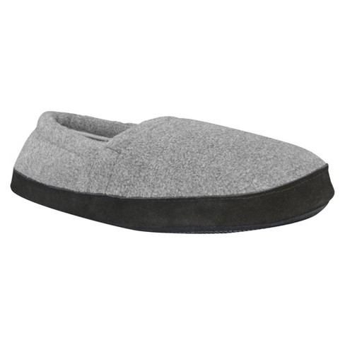 7fea7a6c84f Men s MUK LUKS® Fleece Espadrille Slippers - Charcoal S(7-8)   Target