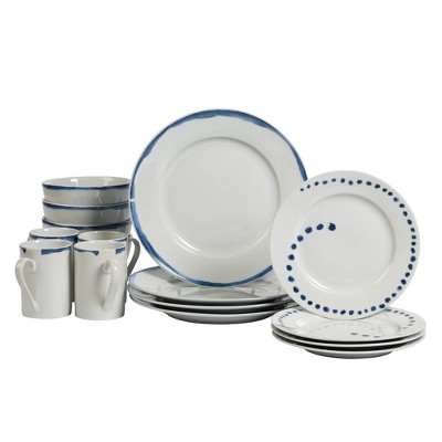 16pc Porcelain Isla Dinnerware Set - Tabletops Gallery