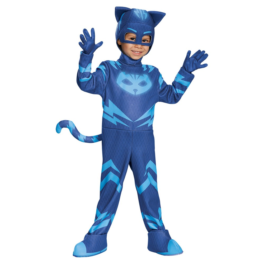 Boys Catboy Deluxe Costume X Small 4 6 Size X Small 4 6