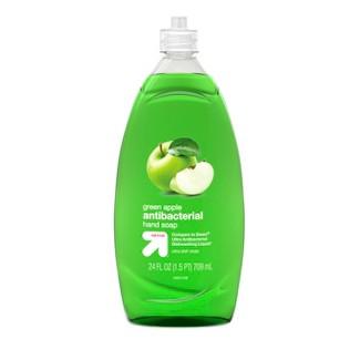 Up&Up™ Green Apple Dishwashing Liquid - 24oz (Compare to Dawn® Ultra Antibacterial Dishwashing Liquid)