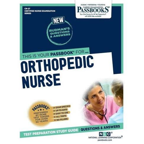 Orthopedic Nurse - by  National Learning Corporation (Paperback) - image 1 of 1