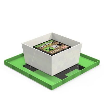 Minecraft 3pc Melamine Dinnerware Set Green - Zak Designs